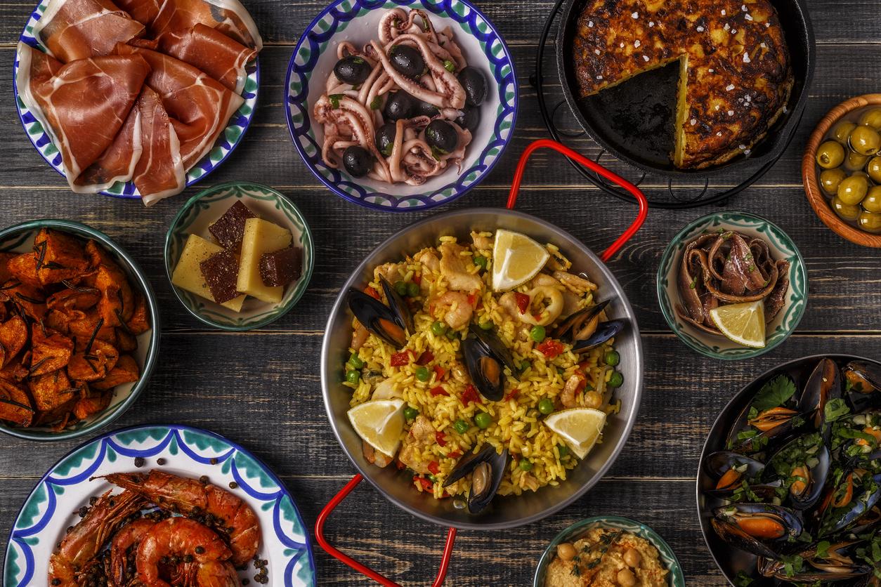 Spanske  matretter  og  tradisjoner